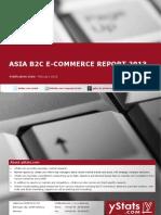 Brochure & Order Form_Asia B2C E-Commerce Report 2013_by yStats