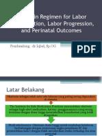 Telaah Jurnal Oxytocin Regimen for Labor Augmentation, Labor Progression