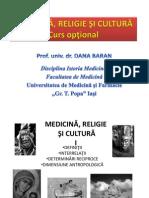 Curs Optional Medicina Religie Si Cultura 2013 2013