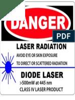 Danger 445nm IV