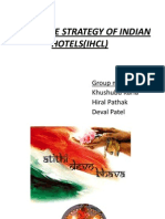 Ppt of Corporate Strategies of Indian Hotels