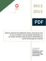 Rapport ACRO - Centre de Stockage de la Manche - Mai 2013