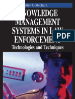 Knowledge Management Systems in Law and Enforcement Gottschalk P