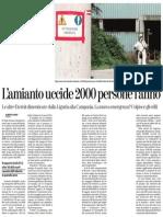 5.6.2013 La Stampa L'Amianto Uccide (Alberto Gaino)