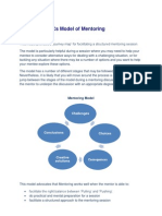 The Five Cs Model of Mentoring
