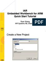2. IAR EWARM Quick Start Tutorial