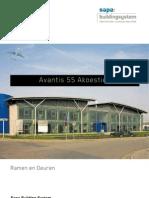 Avantis 55 akoestiek - Sapa Building System