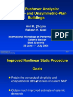 Modal Pushover Analysis Symmetric Symmetric-unsymmetric Unsymmetric-plan and Choprapp