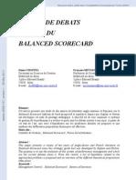 10 Ans de Debats Autour Du Balanced Scorecard