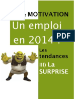 Lettre de Motivation 2014 La Surprise