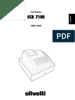 Oliveti-ECR710 Cash Register