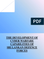 The Development of Cyber Warfare Capabilities Of