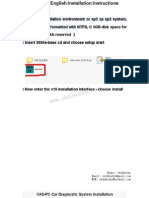 5054a v19 English Version Installation Instructions