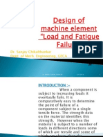 Different Types of Load and Fatigue Failure(2)