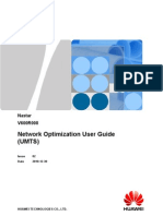 Nastar Network Optimization User Guide (UMTS)-(V600R008_02)