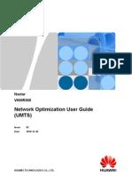 Nastar Network Optimization User Guide (UMTS)-(V600R008_02)