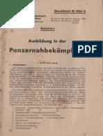 Ausbildung in der Panzernahbekämpfung (1945)