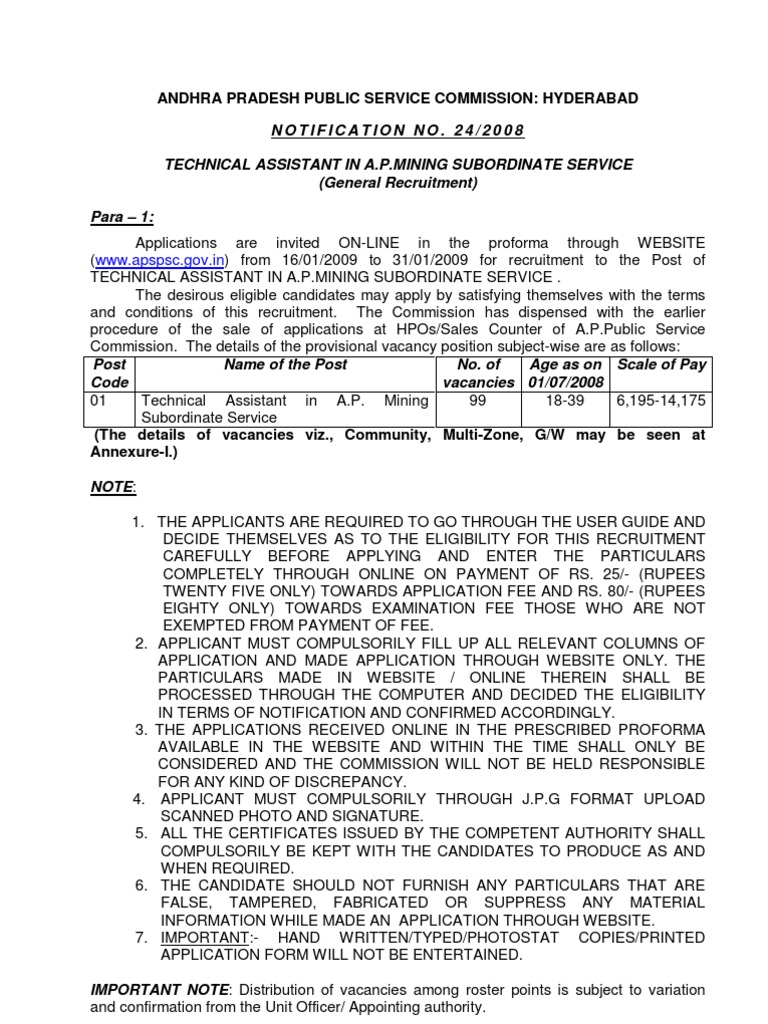 syllabus for technical assistant ap minin rock (geology) geology
