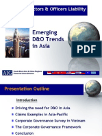 Vietnam - Emerging D&O Trends Presentation - AIG