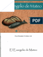 Cisterna, Felix Eduardo - El Evangelio de Mateo