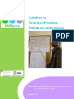 Nepal- Guideline for Planning of Multiuse MUS of Water Resources