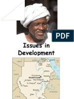Issues in Development Sudan