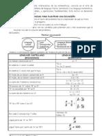 ecuacioness  imprimir
