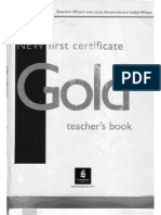 New Gold First Certificate - Teachers Book