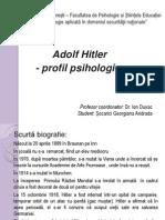 ADOLF HITLER - Profil Psihologic