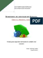 Evolutia Pietei Asigurarilor Din Romania in Conditiile Crizei Economice