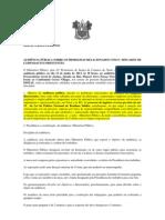 EDITAL E REGULAMENTO AUDIENCIA PÚBLICA DESCARTES LÂMPADA FLUORESCENTE