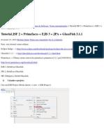 Tutorial JSF 2 + Primefaces + EJB 3 + JPA + GlassFish 3.1.1 _ Silvânio Júnior