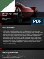 VirtualPresentation 4785 Au 2012 C14785-V - Efficient Pipe Design