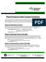 Plant Products Field Tomato Fertilizers