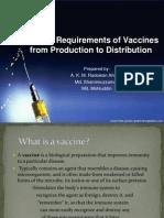 Vaccine:storage Conditions