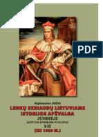Juodieji Lietuvos istorijos puslapiai