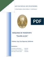 Monografia de Maquinaria-Tornillo Sin Fin