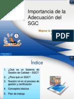 PYQ Importancia Del SGC