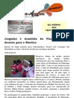Jorginho é demitido do Flamengo após derrota para o Náutico