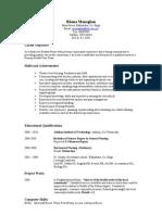 Sample CV (Nursing)
