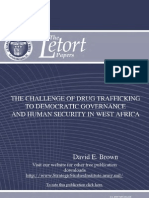 The Challenge of Drug Trafficking to Democratic Governance and Human Security in West Africa