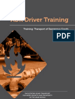 ADR Driver Training -  Training