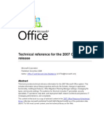 Technical Reference for Office 2007