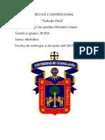 Derecho Constitucional (Trabajo Final)