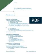 Bases Du Commerce International