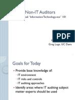 2011-04-27 Presentation IT for Non-IT Auditors