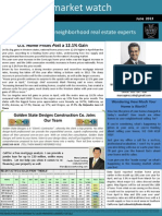 Newsletter Vol 8 June 2013 Market Watch