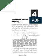 Modul 4 Statistik Uji T 2013