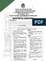 Pcivil2013 Prova Investigador Escrivao