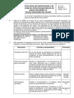 Instrucciones de Mantenimiento en Hornos Industriales